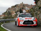 Rudy Michelini in azione con  la Citroen DS3 R5 (Bettiol)