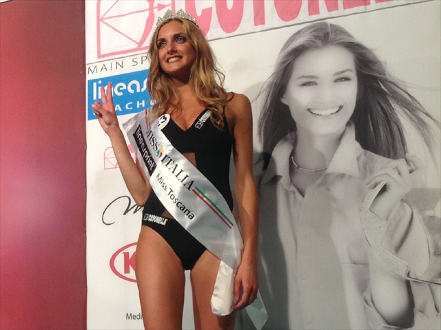 Veronica Fedolfi, Miss Toscana 2014 (foto gonews.it)