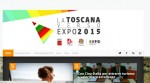 La homepage di expotuscany.it