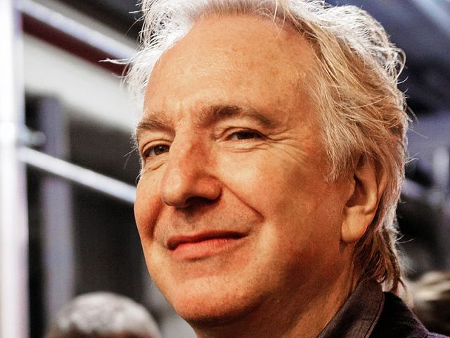 Addio al Severus Piton di Harry Potter, Alan Rickman