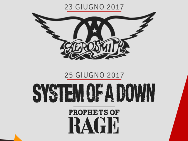 Aerosmith in concerto al Firenze Rocks 2017
