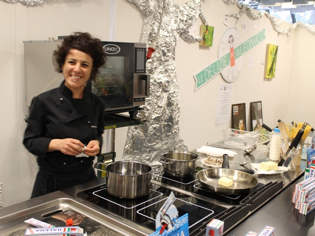 (foto gonews.it) Sabrina Somigli Chef