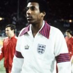 Sport, Football, Friendly International, Wembley, London, 29th November 1978, England 1 v Czechoslovakia 0, Nottingham Forest's Viv Anderson becomes the first black player to represent England at full International level  (Photo by Bob Thomas/Getty Images)