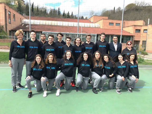 Gli studenti del Roncalli all' EuroschoolSport
