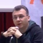 Ciccio Auletta in una conferenza stampa