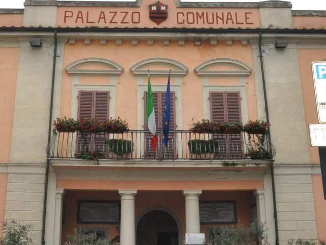 Il municipio di Calcinaia