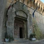 L'ingresso del carcere di Volterra