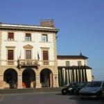 Piazza Ospitalieri ad Altopascio, sede del municipio