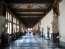 Il museo degli Uffizi a Firenze