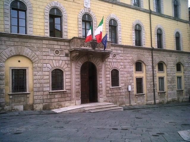 Il municipio di Poggibonsi