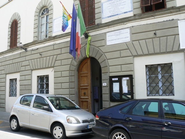 Il municipio di Vinci (foto gonews.it)