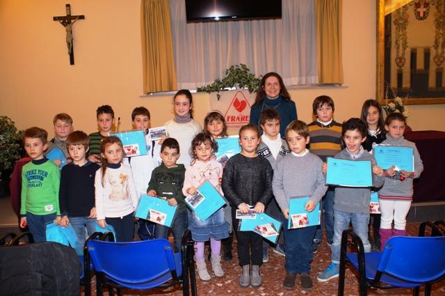 fratres  al concorso per le scuole partecipano 270 bambini