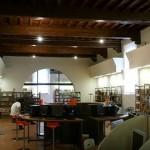 La biblioteca delle Oblate a Firenze