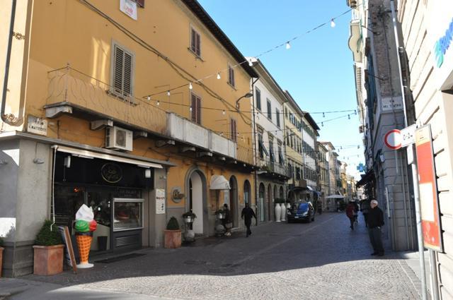 Corso Matteotti a Pontedera (foto gonews.it)