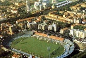 Lo stadio di Pisa