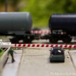 Il plastico ferroviario San Filippo di Gambassi Terme (foto Manrico Kubrika Tiberi)