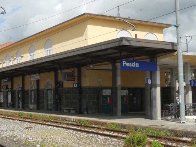 La stazione di Pescia