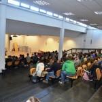 L'auditorium del liceo 'Pontormo' di Empoli