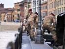 L'intervento dei Paracadutisti Folgore durante la piena dell'Arno a Pisa, febbraio 2014