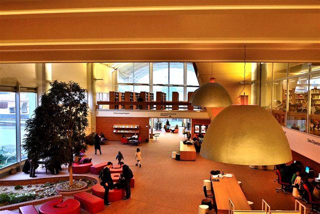 La biblioteca di Pistoia
