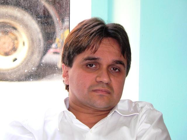 Luca Scarselli dell'Unione Inquilini sez. Valdarno Inferiore