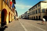 Corso Matteotti, cuore del centro storico di Cascina