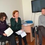 Viola Tesi, Paola Cappelli e Tiziano Cini (foto gonews.it)