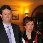 Damiano Carli e Maria Vanni