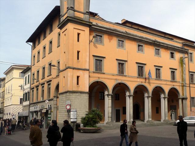 Piazza Cavour a Pontedera
