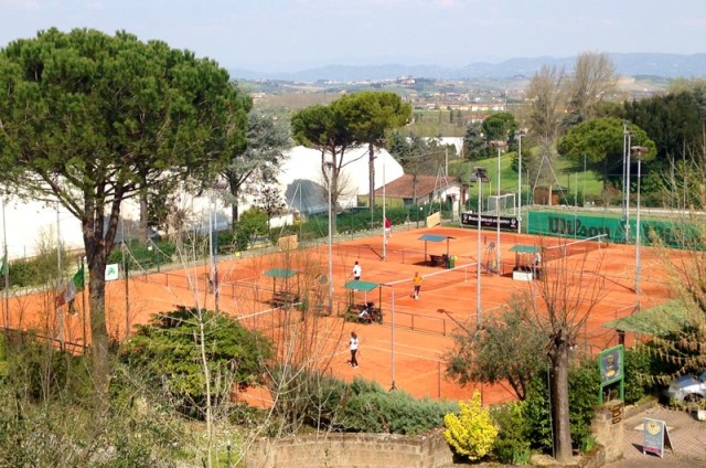 Il tennis club di San Miniato