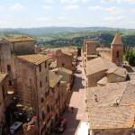 La nuova visuale dall'alto di Palazzo Pretorio di Certaldo