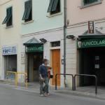 L'ufficio informazioni turistiche a Certaldo alla funicolare