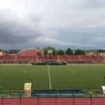 Lo stadio di Pontedera