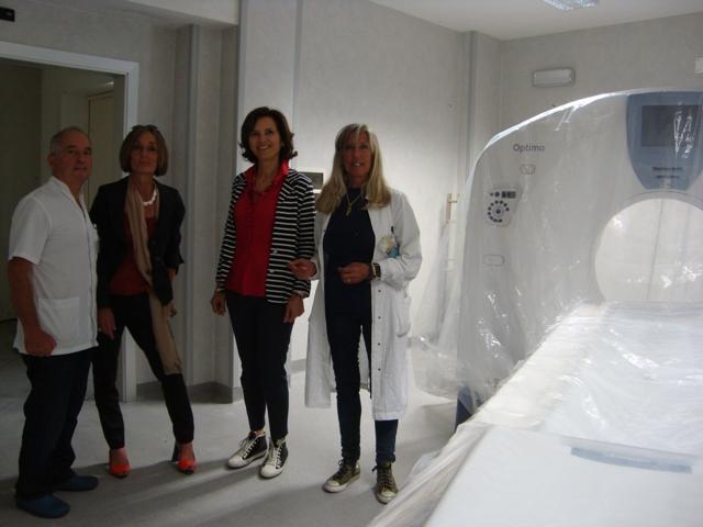 La nuova radiologia dell'Ospedale di Pescia