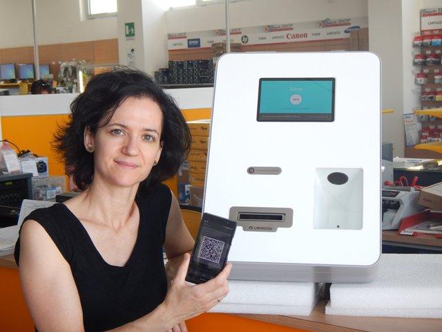 Il bancomat per Bitcoin a Pisa