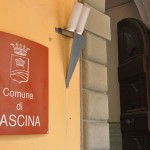 L'ingresso principale del municipio di Cascina (foto gonews.it)