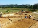 Gli archeologi americani alla Villa Romana del Vergigno nel 2014