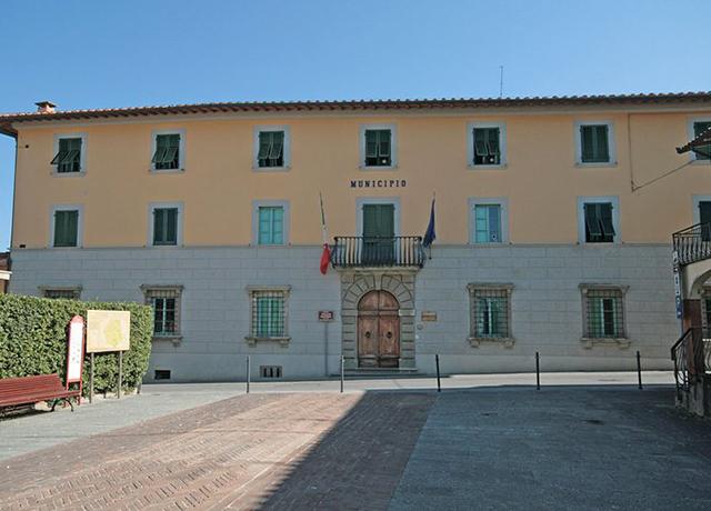 Palazzo Guicciardini, sede del comune di Montopoli in val d'Arno