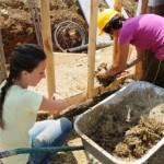L'archeodromo in realizzazione a Poggibonsi