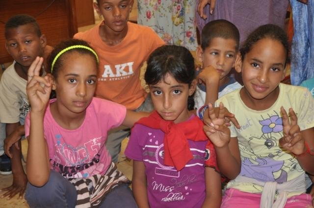 I bambini saharawi accolti in municipio