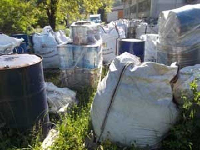 I rifiuti pericolosi a Volterra da smaltire trovati da Arpat