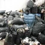 Alcuni rifiuti tessili