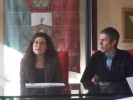 Francesca Brogi e Massimiliano Bagnoli (foto gonews.it)