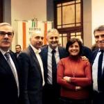 I sindaci del Valdarno Inferiore con l'assessore Vincenzo Ceccarelli