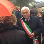 Il sindaco Daniele Lorenzini