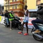 Il vincitore della Mezza Maratona di Fucecchio Hosea Kimeli Kisorio