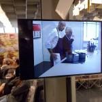Il Cooking Show di Leonardo Romanelli con lo chef Antonello Sardi del ristorante 'La Bottega del buon caffé' (foto gonews.it)