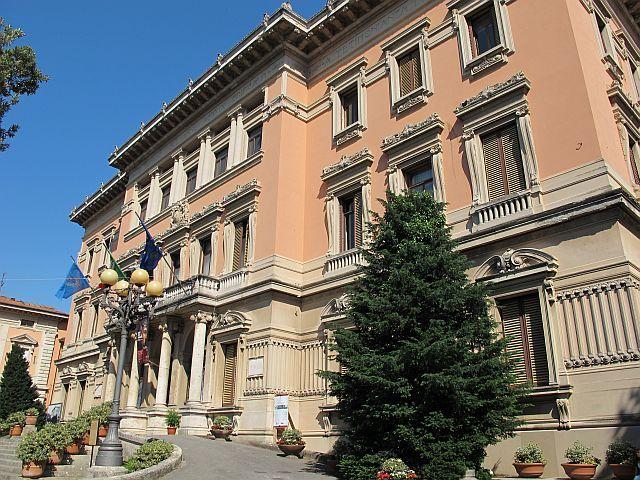 Il municipio di Montecatini Terme