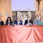 Al tavolo dei relatori, da sinistra, Alessandra Petrucci, Monica Pratesi, Achille Lemmi, Massimo Augello e Alberto Tesi.