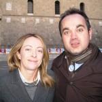 Federico Pavese con Giorgia Meloni